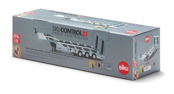 SIKU CONTROL 1/32 SCALE 6723 3 AXLED LOW LOADER ONLY