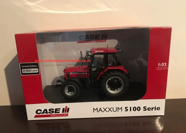 UH4222 UNIVERSAL HOBBIES 1/32 SCALE CASE IH MAXXUM 5150 PRO LIMITED EDITION