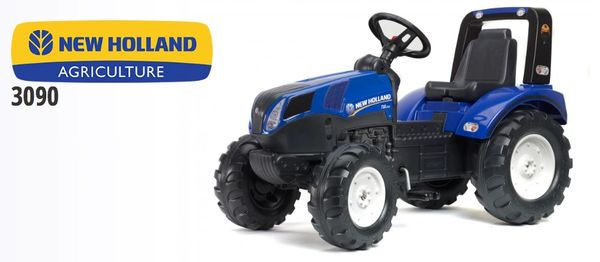 FALK RIDE ON TOYS NEW HOLLAND PEDAL TRACTOR T8.435 PEDAL TRACTOR