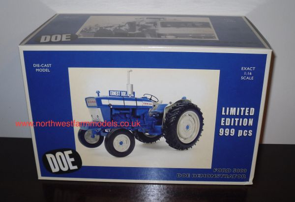 UH2705D 1/16 SCALE FORD 5000 DOE DEMONSTRATOR LIMITED EDITION 999PIECES