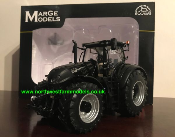 """MARGE MODELS 1:32 SCALE CASE IH OPTUM 300 CVX """"BLACK"""" LIMITED EDITION TRACTOR OF THE YEAR 2017"""