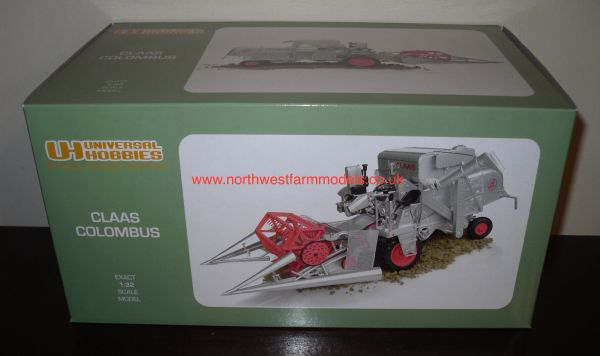 UH2866 1/32 SCALE CLAAS COLOMBUS COMBINE HARVESTER
