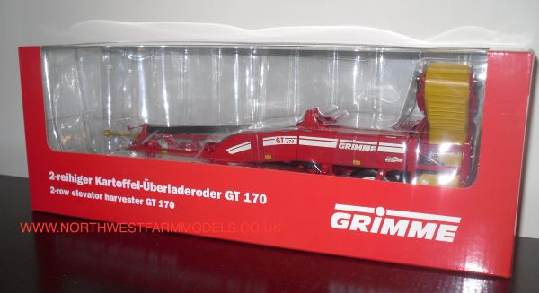 ROS 1/32 SCALE GRIMME 2-ROW ELEVATOR HARVESTER GT170