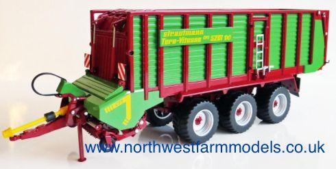 Wiking 1/32 Scale Strautmann Tera-Vitesse CFS 5201 Forage Wagon