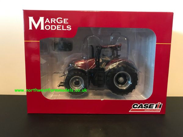 "MARGE MODELS 1814 1:32 SCALE CASE IH OPTUM 300 CVX ""PEARL RED"" 500pcs"
