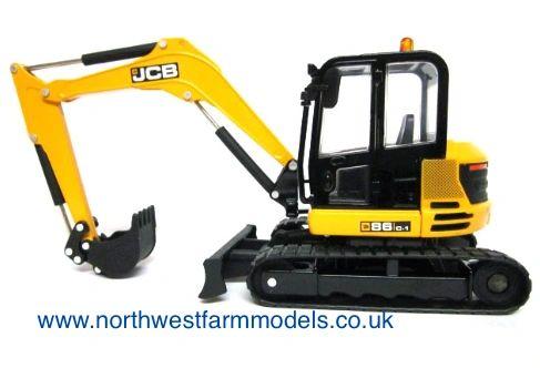 43013 Britains Farm JCB 86C-1 Midi Excavator