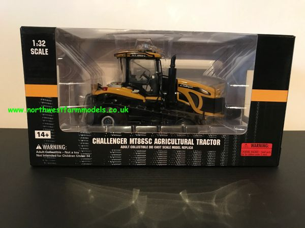 USK SCALEMODELS 1:32 SCALE CHALLENGER MT865C TRACKED TRACTOR