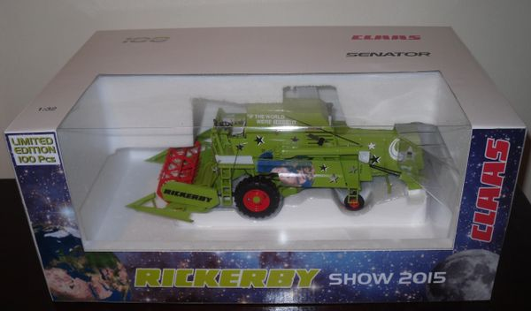 Norev 1/32 CLAAS Senator 70 Limited Edition 100 Pieces Rickerbys Spring Show 2015
