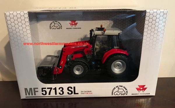 UH4903 UNIVERSAL HOBBIES 1:32 SCALE MASSEY FERGUSON 5713 SL WITH MF 956 FRONT LOADER