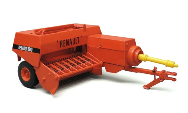 REPLICAGRI 1:32 SCALE RENAULT 120 SMAILL SQUARE BALER