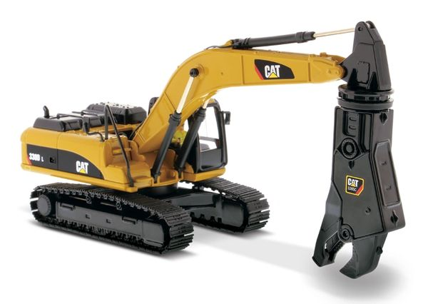 DIECAST MASTERS 85277 1:50 SCALE CAT 330D L HYDRAULIC EXCAVATOR WITH SHEAR