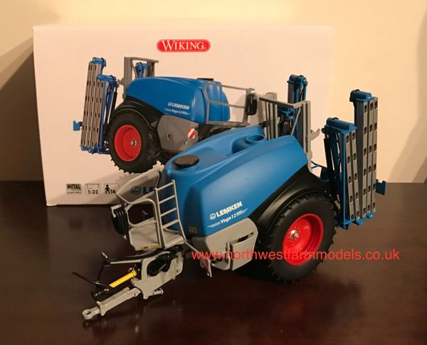 WIKING 1/32 SCALE LEMKEN VEGA 12 TRAILED SPRAYER