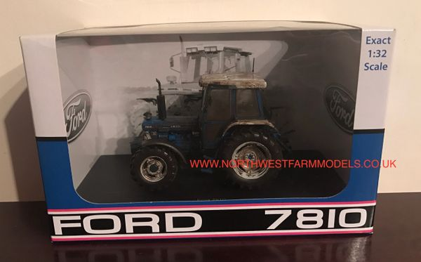 "UH4077 UNIVERSAL HOBBIES 1/32 SCALE FORD 7810 ""STILL HARD AT WORK"" LIMITED EDITION"