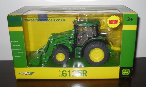 42831 Britains Farm John Deere 6125R with Loader