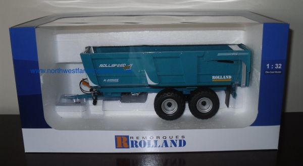 UH4866 Rolland Rollspeed 6835 Trailer (Dealer Box)