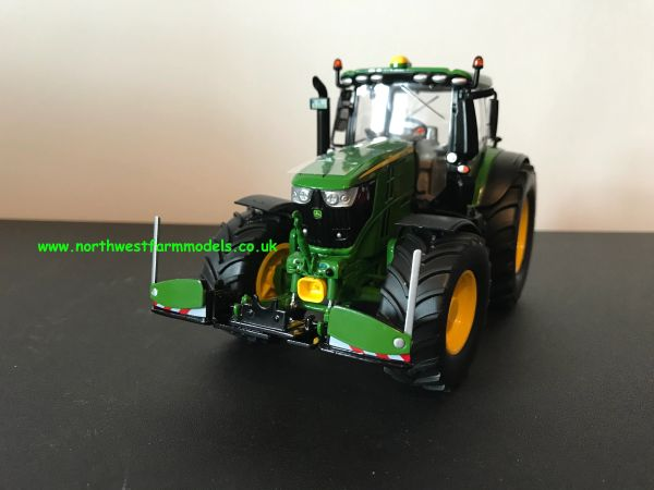 WIKING 1:32 SCALE AGRIbumper JOHN DEERE COLOUR **NEW**