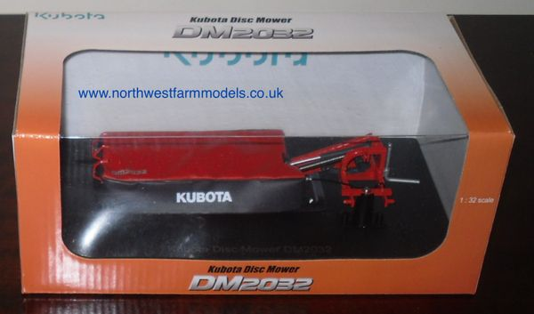 UH4864 Universal Hobbies Kubota DM2032 Disc Mower (Dealer Box)