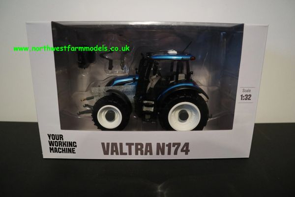 ROS 1:32 SCALE 301566 VALTRA N174 BLUE **BRAND NEW**
