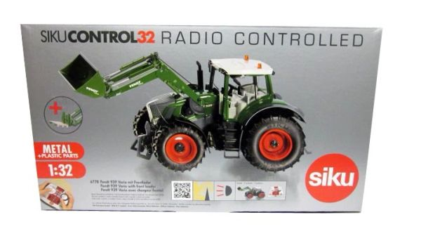 SIKU CONTROL 1/32 SCALE 6778 FENDT 939 VARIO WITH FRONT LOADER (INCLUDES REMOTE CONTROL)
