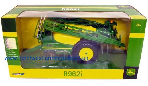 42909 Britains Farm John Deere R962i Trailed Sprayer