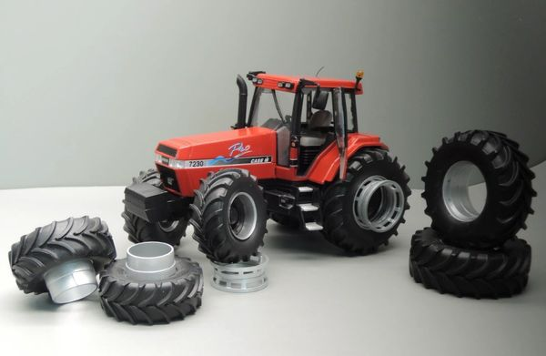 REPLICAGRI 1:32 SCALE CSE IH MAGNUM 7230 WITH DUAL WHEELS LIMITED EDITION