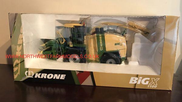 ROS 1/32 SCALE KRONE BIG X 1100 FORAGE HARVESTER (DEALER BOX)
