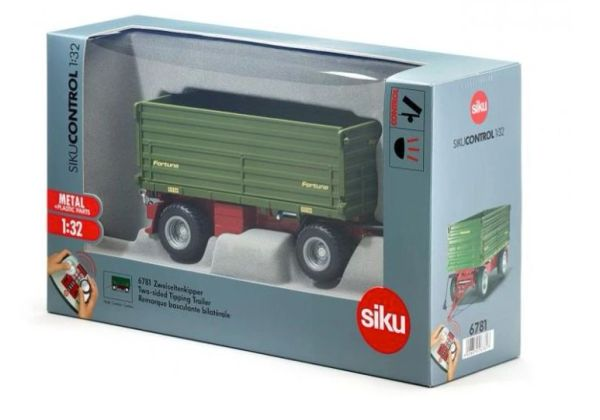 SIKU CONTROL 1/32 SCALE 6781 FORTUNA 2 SIDED TIPPING TRAILER