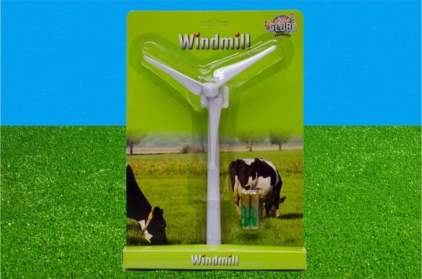 KIDS GLOBE 1:32 SCALE 29CM WINDMILL WITH BATTERY 571897