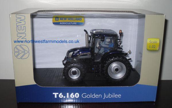 "UH4272 Universal Hobbies 1/32 New Holland T6.160 ""Golden Jubilee Edition"""