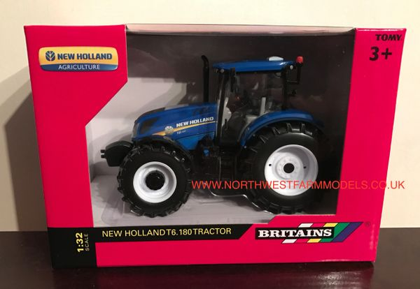 BRITAINS FARM 43147A1 1/32 SCALE NEW HOLLAND T6.180 TRACTOR *