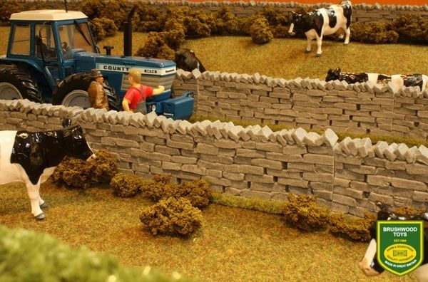 BRUSHWOOD TOYS AUTHENIC STONE WALLING BT2091