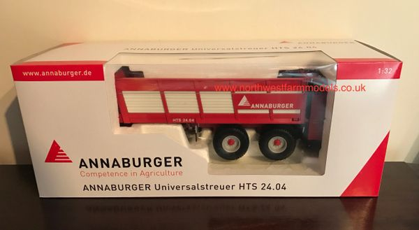 ROS ANNABURGER HTS 24.04 MANURE SPREADER **NEW** 1/32 SCALE