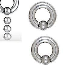 316L Steel Easy Pop Captive Ring 8g