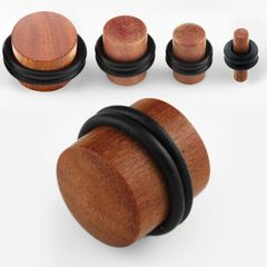 Teak Wood Plug 2g