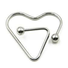 Heart Shaped Barbell