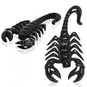 Buffalo Horn Scorpion Hangers 6g
