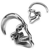 Skull 316L steel Hanger 14g