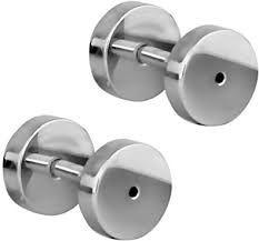 316L steel screw fit tunnel 16g