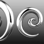Spiral Stainless Steel Taper 12g