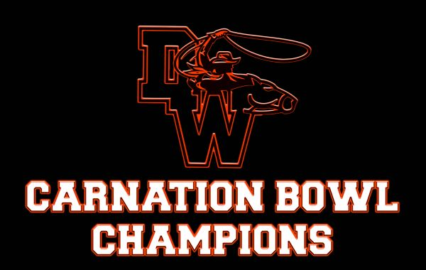 CARNATION BOWL CHAMPIONSHIP FLAG MEDIUM