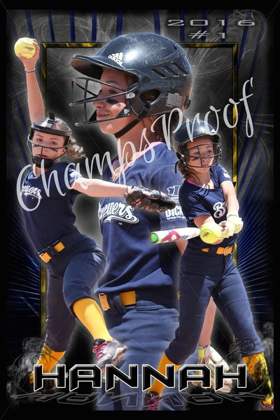 "12""x18"" Action Shots w/ Custom Background 2-3 Images"