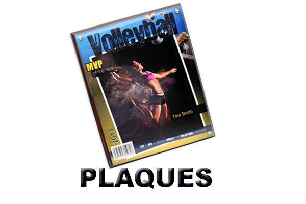 "MAGAZINE COVER PLAQUE 8""X10"""