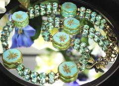 Aqua Dragonfly Necklace