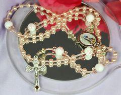 Pink Ribbon Rosary