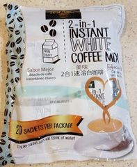 5 Bags of Ideal Tastes 3 in 1 Instant White Coffee Mix
