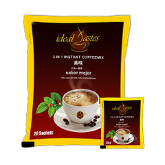 5 Bags of Ideal Tastes 3 in 1 Instant Coffee Mix
