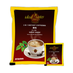 9 Bags of Ideal Tastes 3 in 1 Instant Coffee Mix