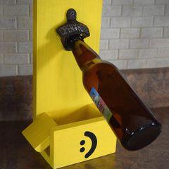 SOLD Positive Yellow Bottle Opener