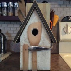 Rustic Kitchen Birdhouse 1