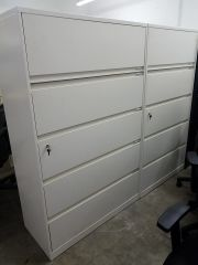Used 5 Drawer Steelcase Lateral File Cabinets